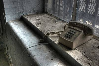 Antique Telephone Photograph - Phone Home by Jane Linders