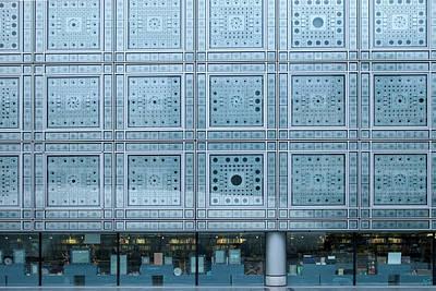 Photo Cell Window Blinds At Instute Du Print by Brian Jannsen