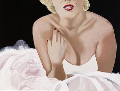 Beauty Mark Painting - Photo Shoot by Marcella Lassen