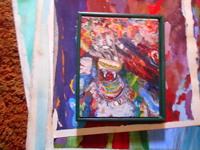 Painting - Photograph Of Some Paintings I Painted by Shea Holliman