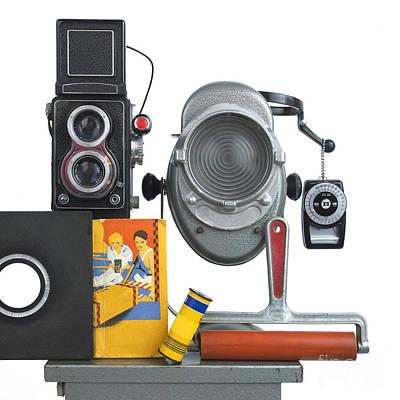 Technology Photograph - Photography Concept by Bernard Jaubert