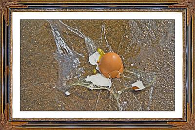 Egg Mixed Media - Physics Theoretical Velocity by Betsy Knapp