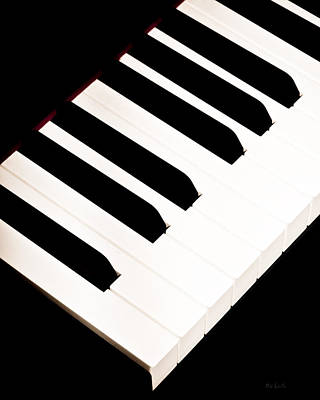 Rock Music Art Photograph - Piano by Bob Orsillo