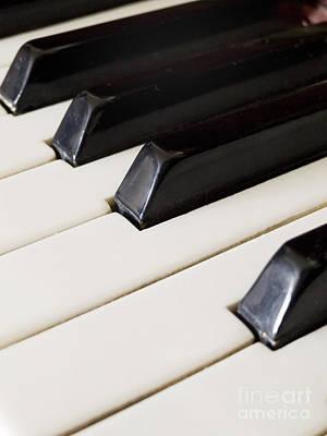 Piano Keys Print by Jelena Jovanovic