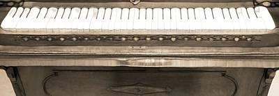 Chord Mixed Media - Piano Man by Dan Sproul
