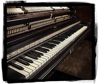 Piano Photograph - Piano by Patrick Chuprina