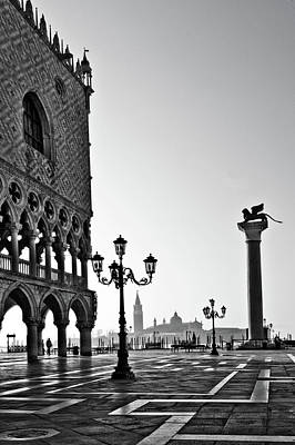 Town Square Photograph - Piazza San Marco by Marion Galt