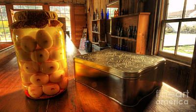 Bannack Ghost Town Photograph - Pickled Eggs Past Due Date by Bob Christopher