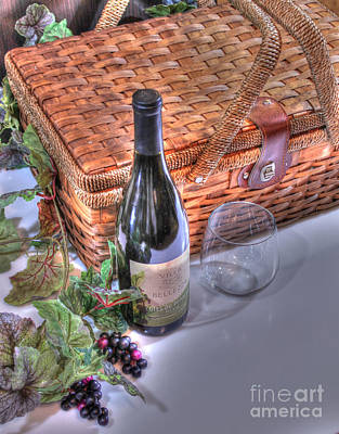 Vino Photograph - Picnic Pleasures by Jimmy Ostgard