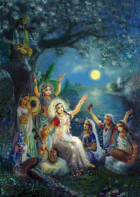 Shri Krishna Painting - Picture From Aindra Book  by Lila Shravani