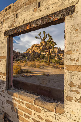 Ghost Town Photograph - Picture Window by Peter Tellone