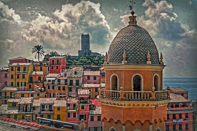 Picturesque Cinque Terre Print by Hanny Heim