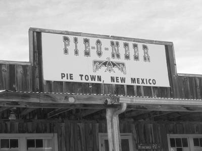 Old Diner Photograph - Pieoneer Pie Town New Mexico by Dan Sproul