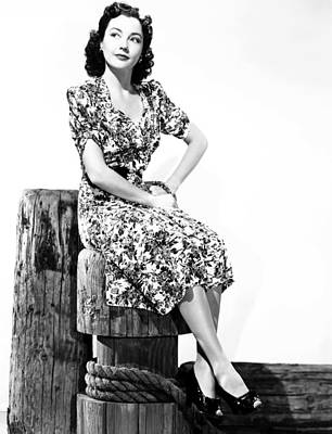 Pier 13, Lynn Bari,1940, Tm & Copyright Print by Everett