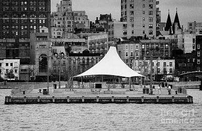 Pier 45 Hudson River Park New York City Print by Joe Fox
