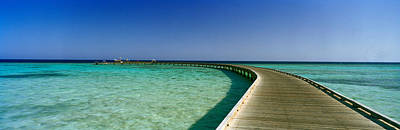 Pier In The Sea, Soma Bay, Hurghada Print by Panoramic Images