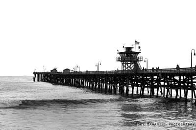 Photograph - Pier by Joey  Maganini
