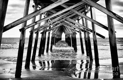 Pier Path Print by John Rizzuto