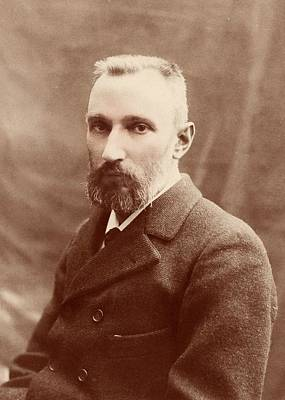 Pierre Curie Print by American Philosophical Society
