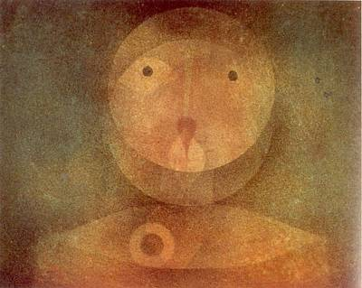 Abstract Painting - Pierrot Lunaire 1924 by Paul Klee