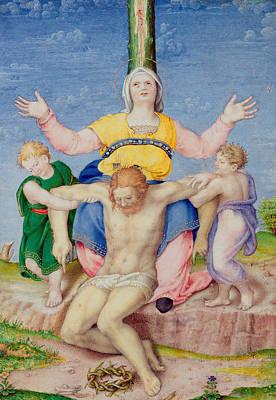Pieta Print by Michelangelo