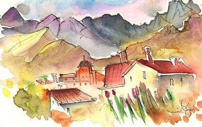 Tuscany Drawing - Pietrasanta In Italy 04 by Miki De Goodaboom