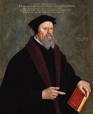 Pietro Martire Vermigli Print by Hans Asper