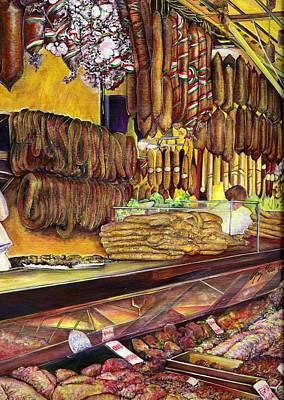 Pig Budapest Hungary Original by Gaye Elise Beda
