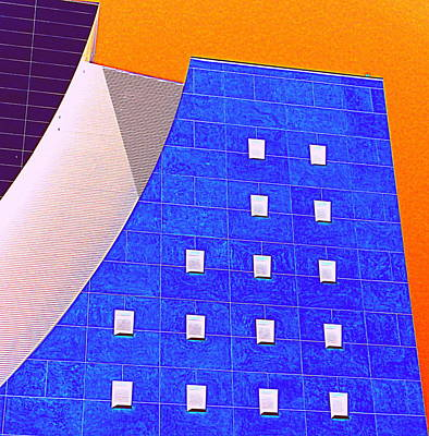 Curvilinear Digital Art - Pig Eye Windows by Randall Weidner