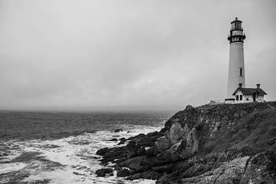 United States Coast Guard Photograph - Pigeon Point Lighthouse by Ralf Kaiser