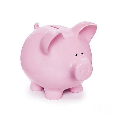 Piggy Bank  Print by Colin and Linda McKie