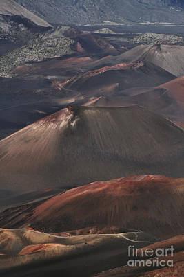 Crater Digital Art - Pihanakalani Haleakala Volcano Sacred House Of The Sun Maui Hawaii by Sharon Mau