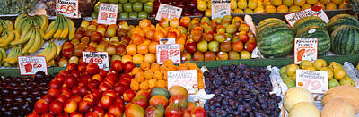 Watermelon Photograph - Pike Place Market Seattle Wa Usa by Panoramic Images