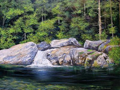 Pikes Falls Print by Ken Ahlering