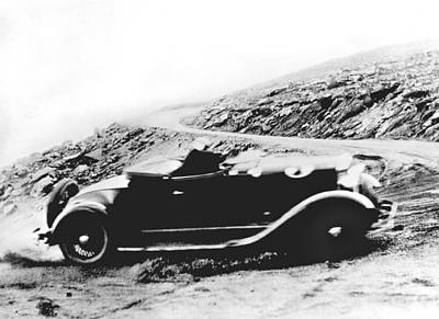 Ability Photograph - Pikes Peak Auto Race by Underwood Archives