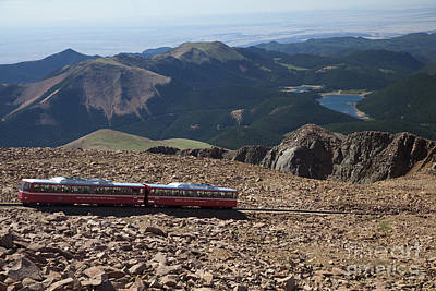Pinion Photograph - Pikes Peak by Jim West