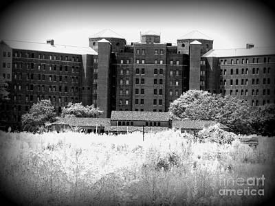 Pilgrim State Psychiatric Hospital Print by Ed Weidman