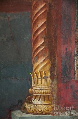 Pillar Print by Marion Galt