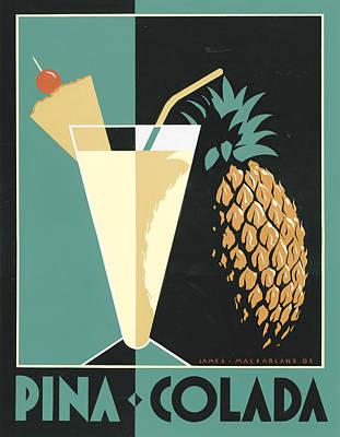 Pina Colada Print by Brian James