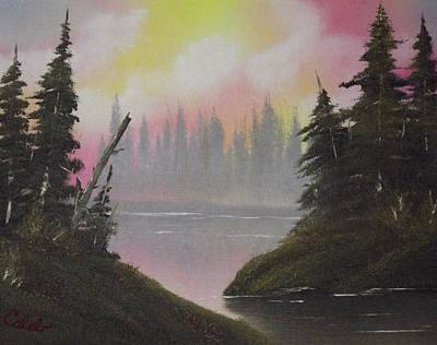 Pine Bay Print by Caleb Mitchell
