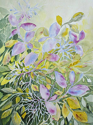 Fauna Painting - Pine Point Trail Vegetation by Joanne Smoley