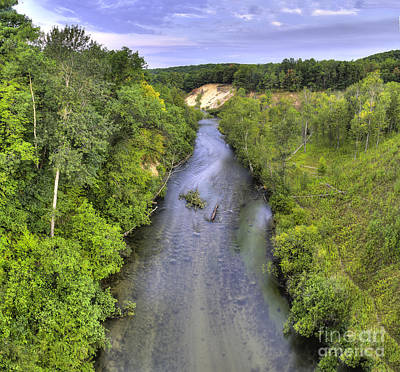 Peterson Photograph - Pine River by Twenty Two North Photography