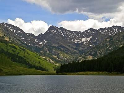 Piney Lake Vail Colorado Print by Kristina Deane