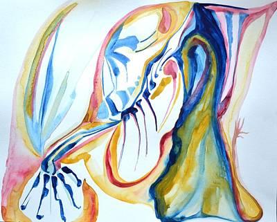Pinion Painting - Pinioned by Vivianne Maloney