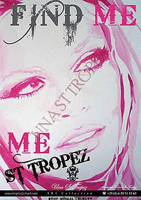 Bardot Photograph - Pink Bb by Una St Tropez
