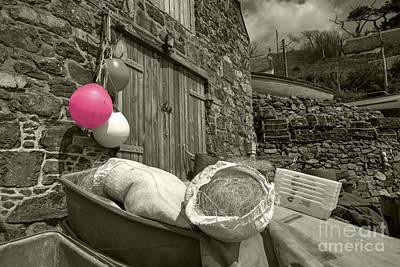 Pink Buoy  Print by Rob Hawkins