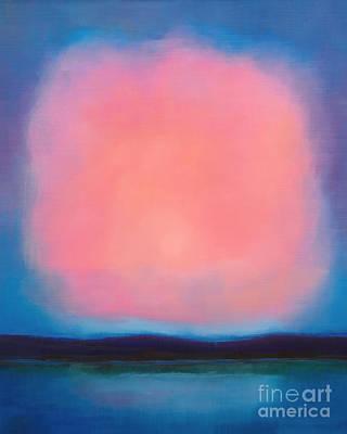 Pink Cloud Print by Lutz Baar