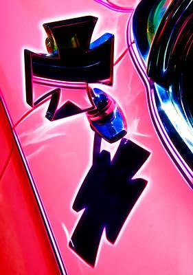 Pink Custom Mirrors Print by Phil 'motography' Clark