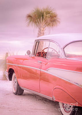 Antique Automobiles Photograph - Pink Dreams by Edward Fielding