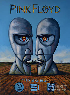 Pink Floyd - The Division Bell Original by Paul Meijering